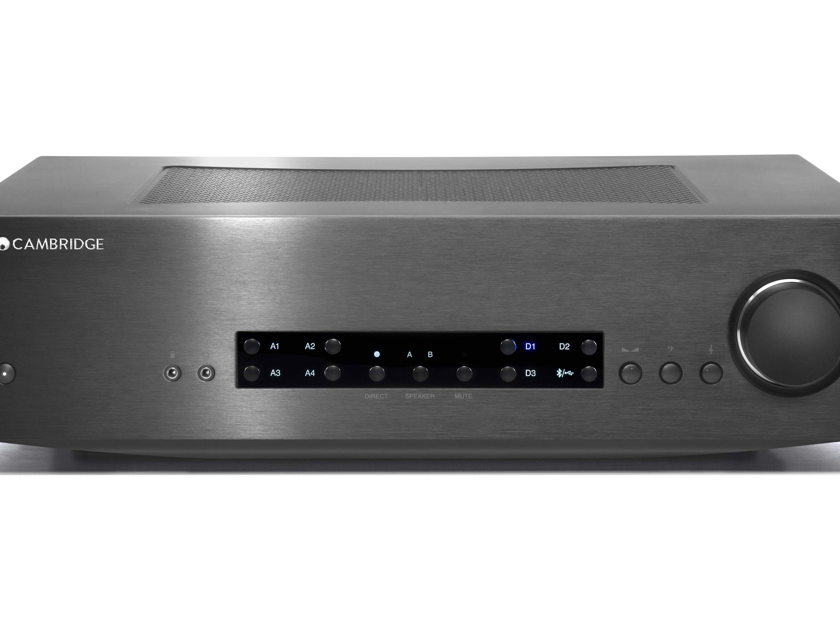 Cambridge Audio CXA80 Stereo integrated amp with built-in DAC and USB input