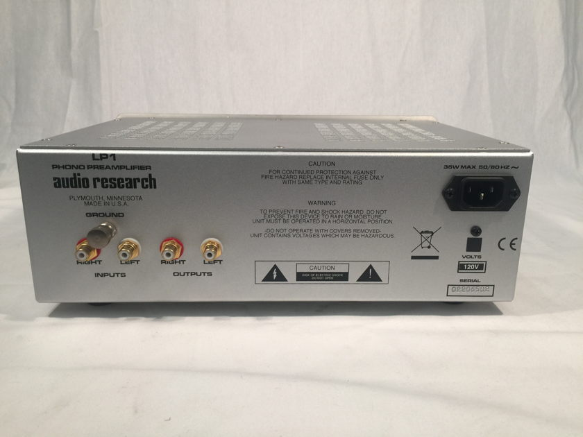 Audio Research LP-1 Phono Preamplifier High Definition
