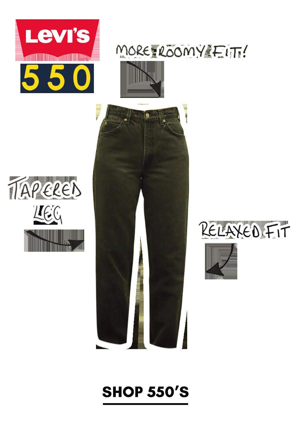 Shop levi 550