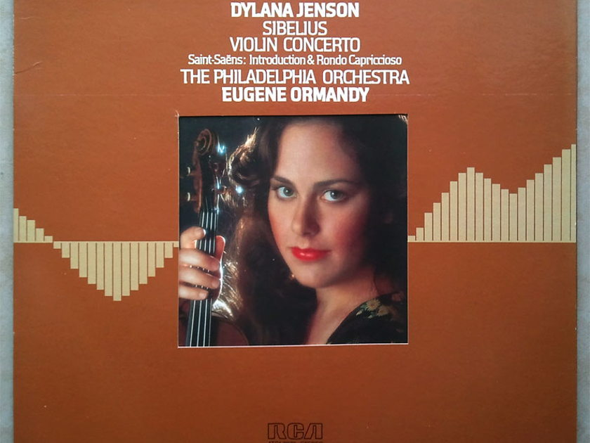 RCA Digital | DYLANA JENSON/ORMANDY/SIBELIUS - Violin Concerto / Audiophile German Pressings