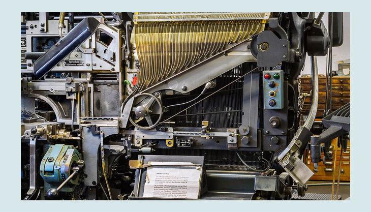 stiftung werkstattmuseum für druckkunst leipzig druck maschine