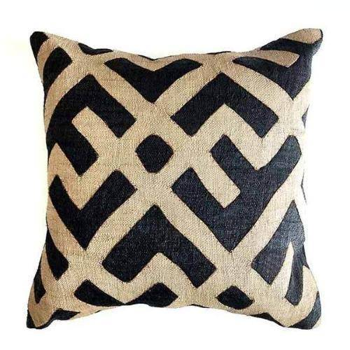 Kuba pillow cover and kuba cloth
