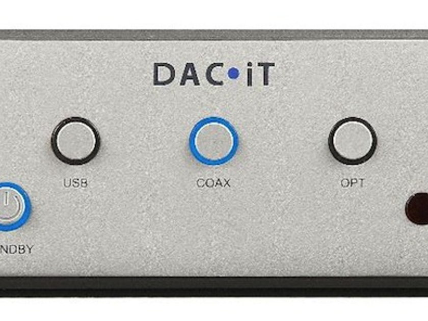 Peachtree Audio DAC iT D/A Converter USB, COAX, Optical MINT Condition