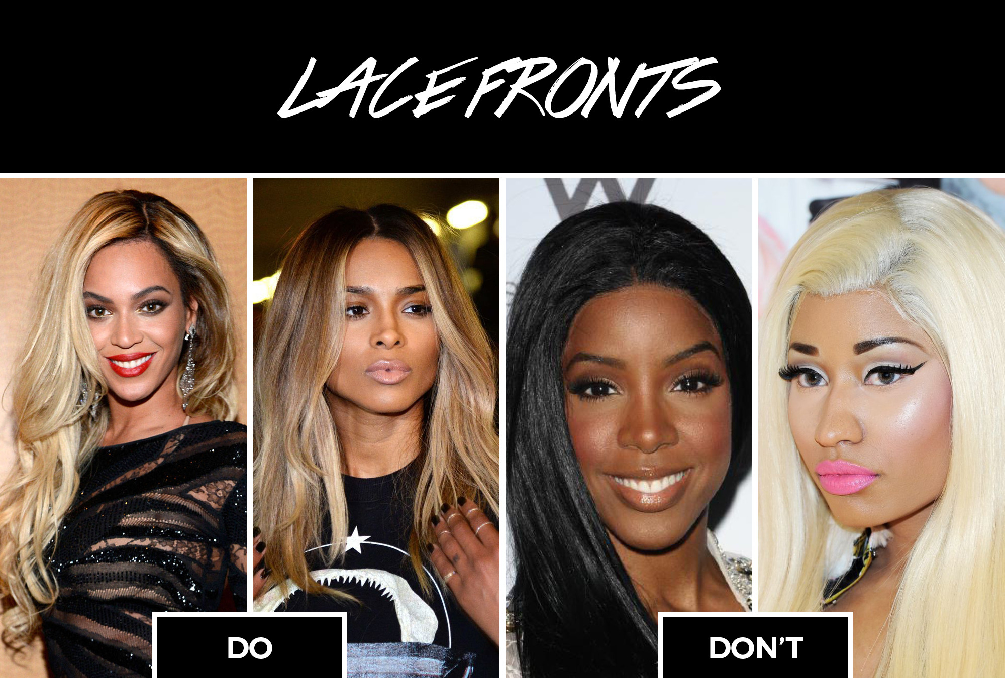 bad lace front worst black womens hairstyles