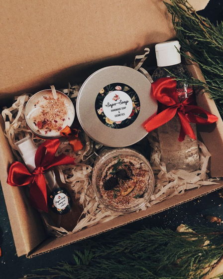 Подарочный набор «Ванильная карамель»