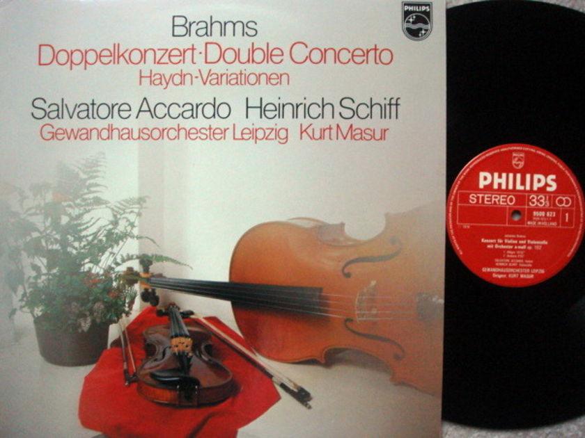 Philips / ACCARDO-SCHIFF, - Brahms Double Concerto, NM!