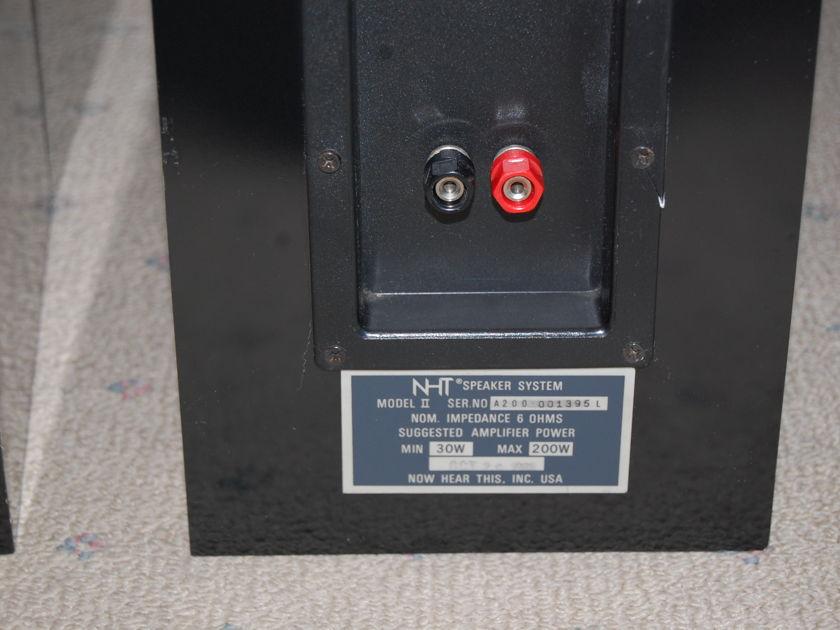 NHT Model II Loudspeakers