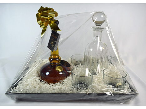 Willett Bourbon with Decanter, Glasses and Tray