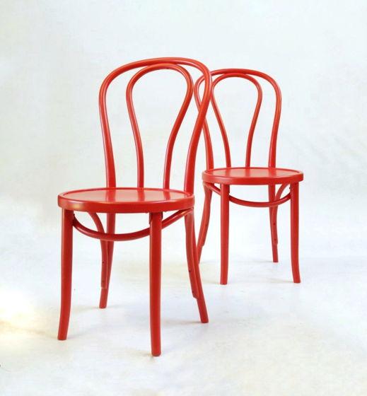 Венский стул, цветная эмаль