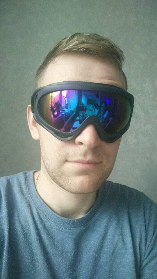 lunette vitesse bandeau securite