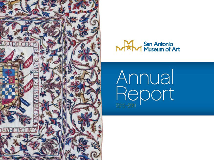 2010-11 Annual report cover