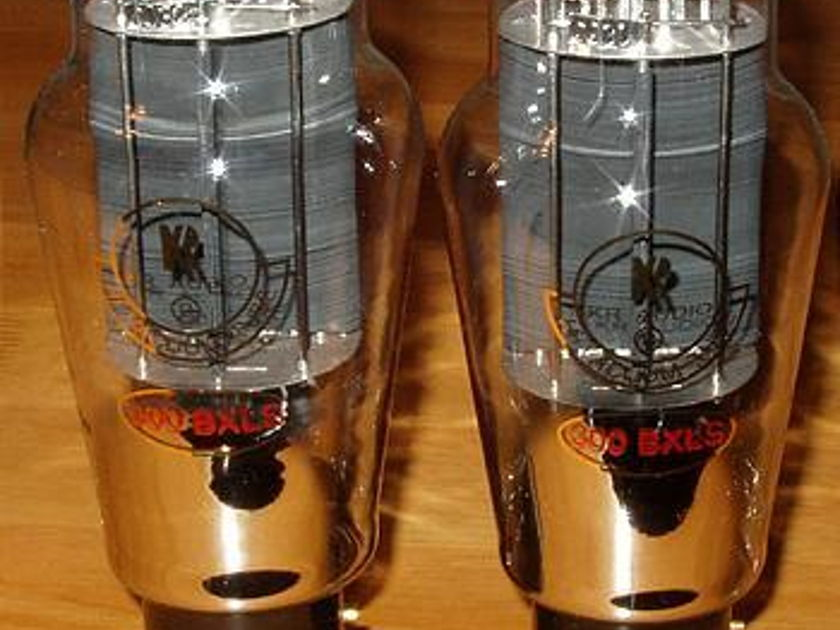 Kr audio 300bxls Tubes,Factory Match pair, brand new in box !