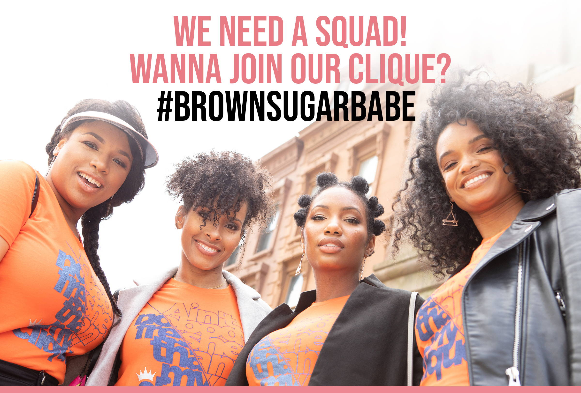 #BrownSugarBabe Adult Ambassador Search Header