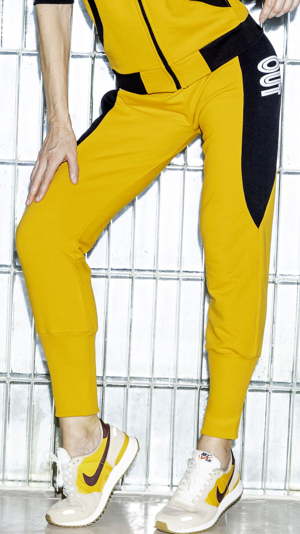 Штаны Work Out Yellow