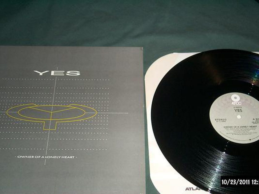 Yes - Owner Of A Lonely heart 12 inch remix nm