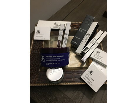 Arbonne  hair and skincare products