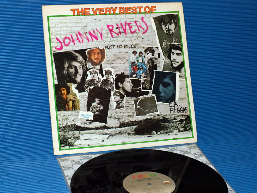 "JOHNNY RIVERS   - ""The Very Best Of Johnny Rivers"" - Liberty 1976"