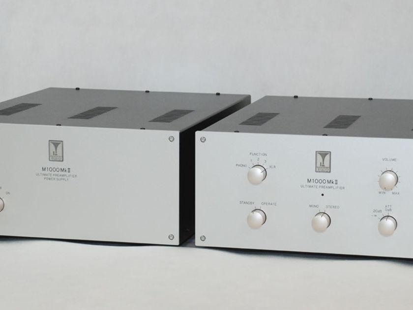 Audio Note Kondo M1000 mk 2 230V from EU