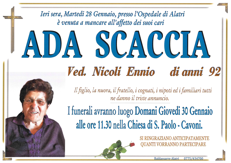 Ada Scaccia