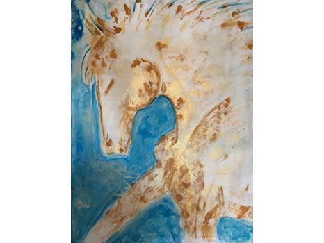 """Donna Bernstein's """"Day Dreamer"""" Painting"""
