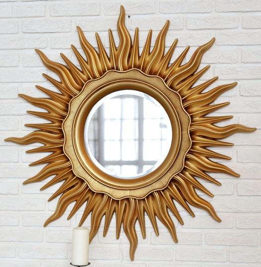 Декоративные зеркало солнце