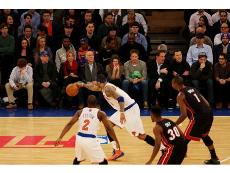 Hottest Seats in Town!  Courtside Knicks Tickets
