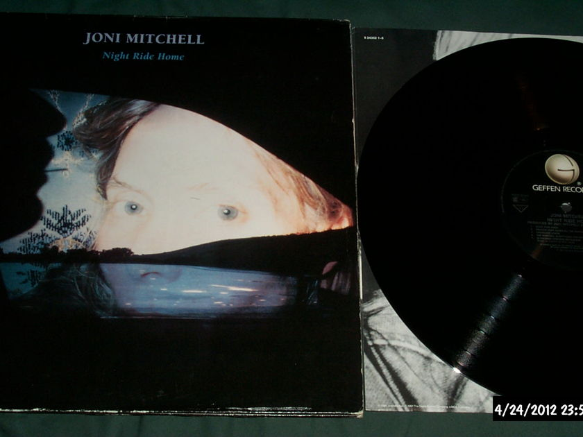 Joni Mitchell - Night Ride Home rare vinyl lp