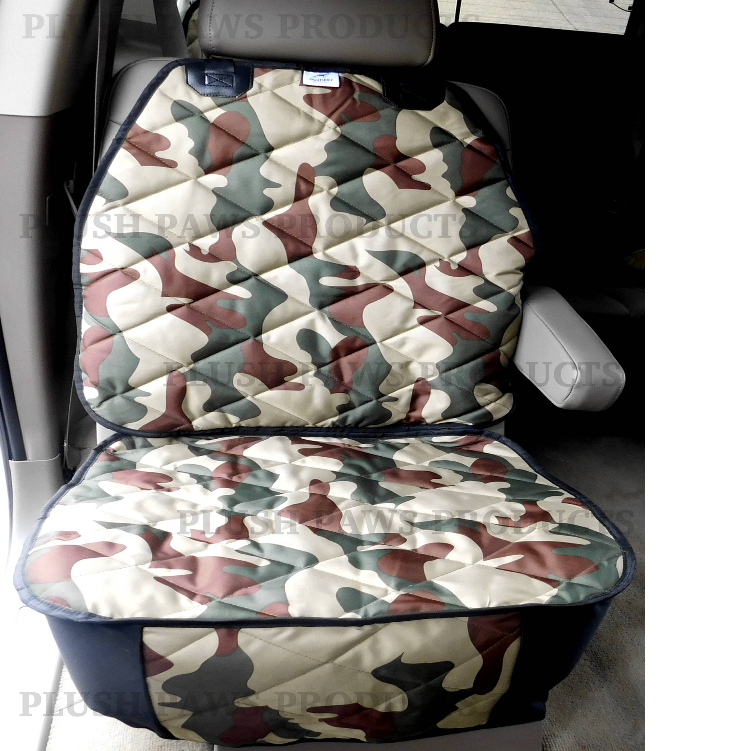 Military Pet Seat Cover