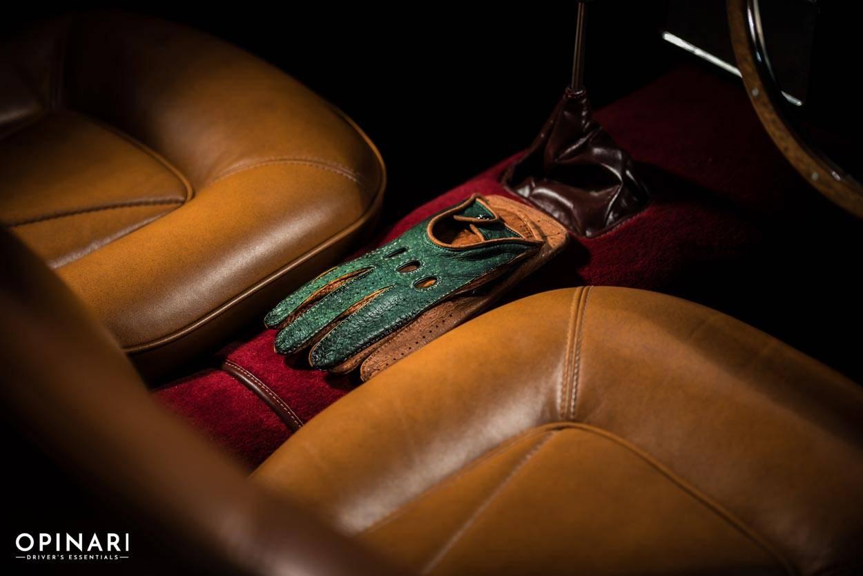 Driving Gloves British Racing Green