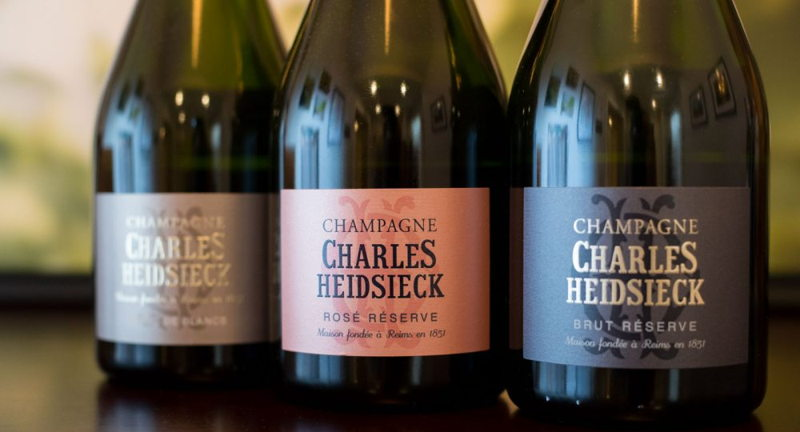 Charles Heidsieck Champagne Dinner w/ Brix and Goosetown Cafe