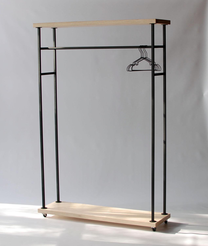 вешалка на колесиках для одежды фото