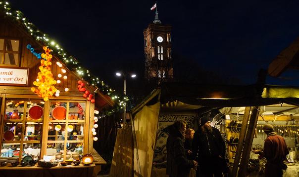 Рождественский Берлин — праздник начинается уже в ноябре!