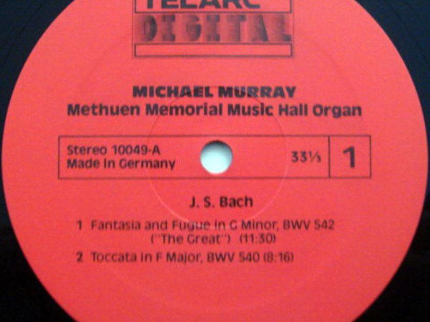 ★Audiophile★ Telarc / MICHAEL MURRAY, - Bach The Great Organ at Methuen,  MINT!