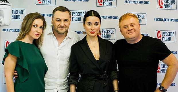 Тина Канделаки побывала в гостях у «Русских Перцев» - Новости радио OnAir.ru