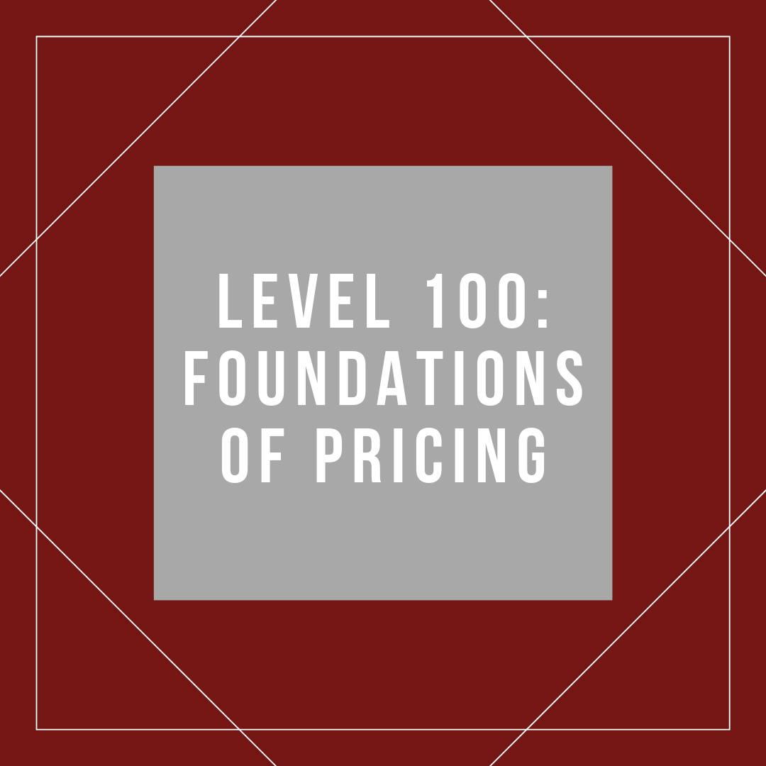 Core Pricing Skills
