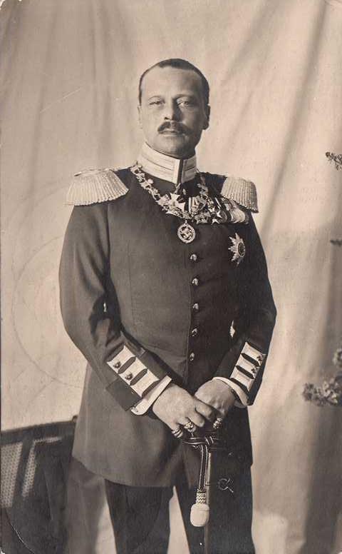 Großherzog von Hessen in Uniform