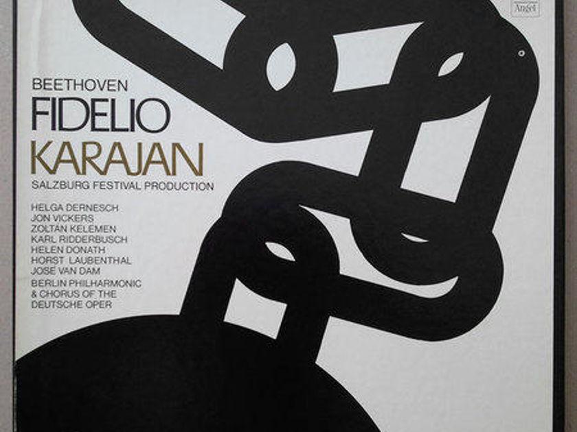Angel/Karajan/Beethoven - Fidelio / 3-LP Box Set / NM