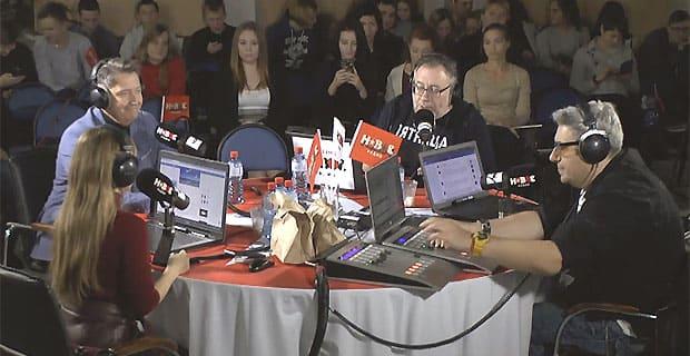 Ведущие утреннего шоу на «Новом радио» провели эфир в Ижевске - Новости радио OnAir.ru