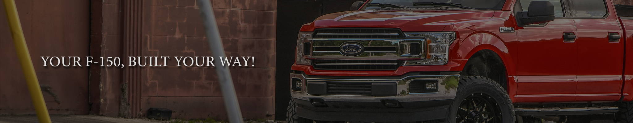 3C Truck Conversions Your Ford F150 Truck Built Your Way! Customize your Build Here.