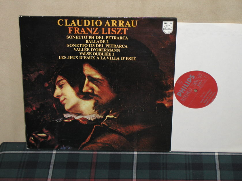 Claudio Arrau - Liszt Sonetto 104 Del Petrarca Philips Import LP 802 LY