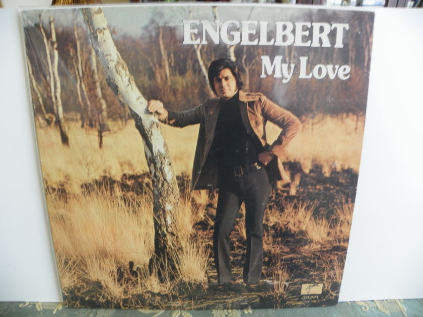 ENGELBERT - MY LOVE Pressing NM