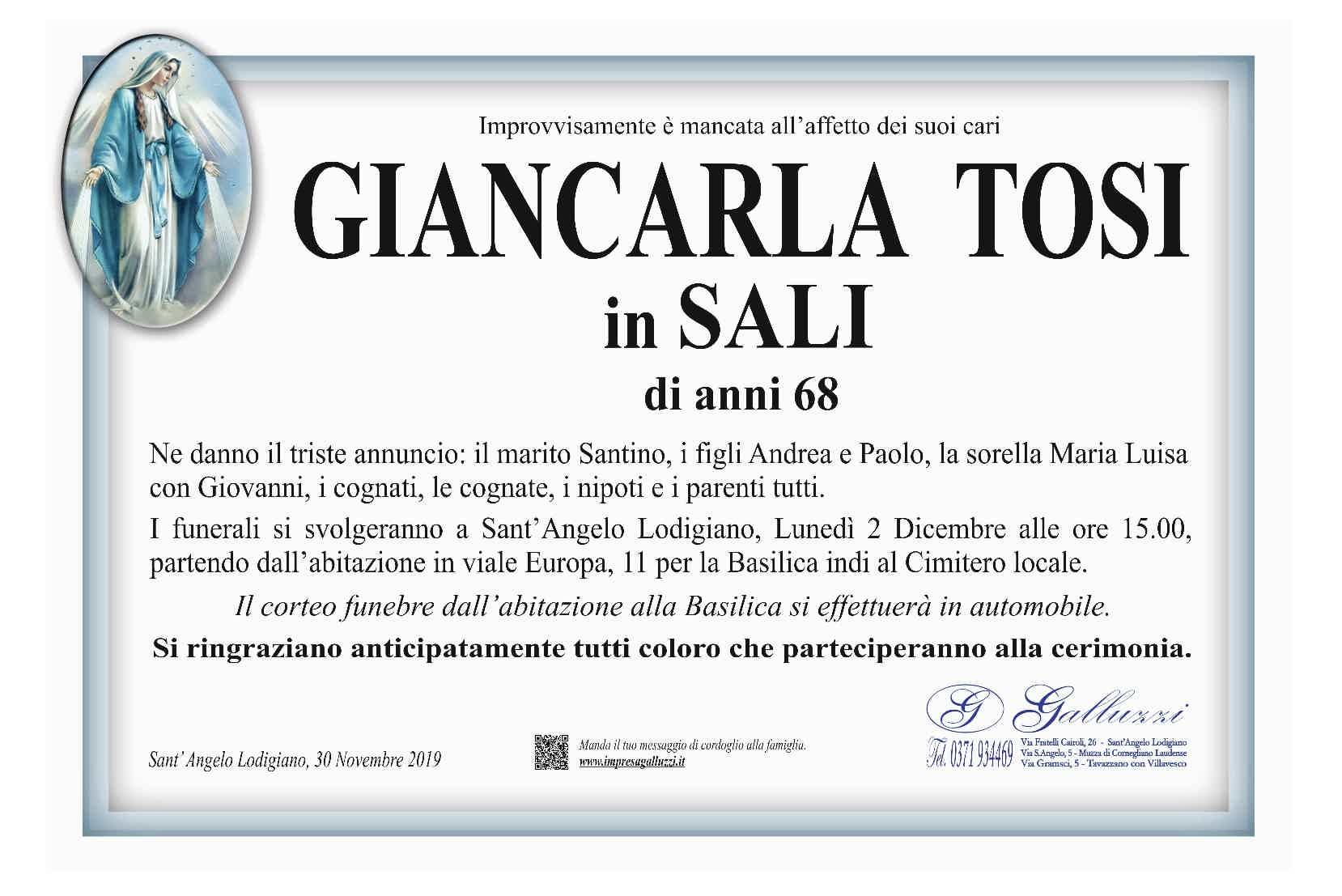 Giancarla Tosi