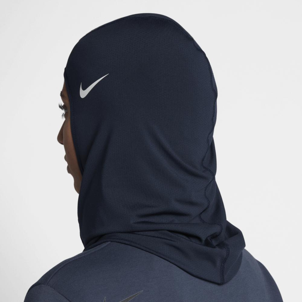 Nike Pro Hijab, back view