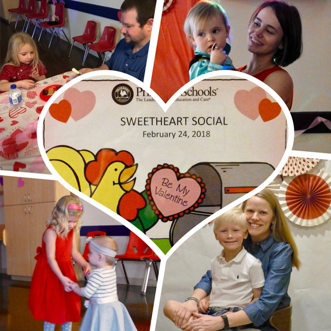 Sweetheart Social Families at Event