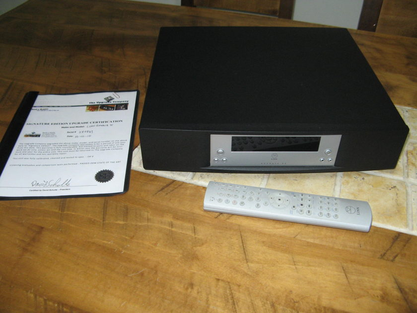Linn Akurate Ds dynamik power supply signature upgrade by the upgrade company