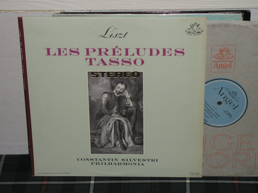 Silvestri/PO - Liszt Les Preludes Blue/Silver Angel LP from 60's.
