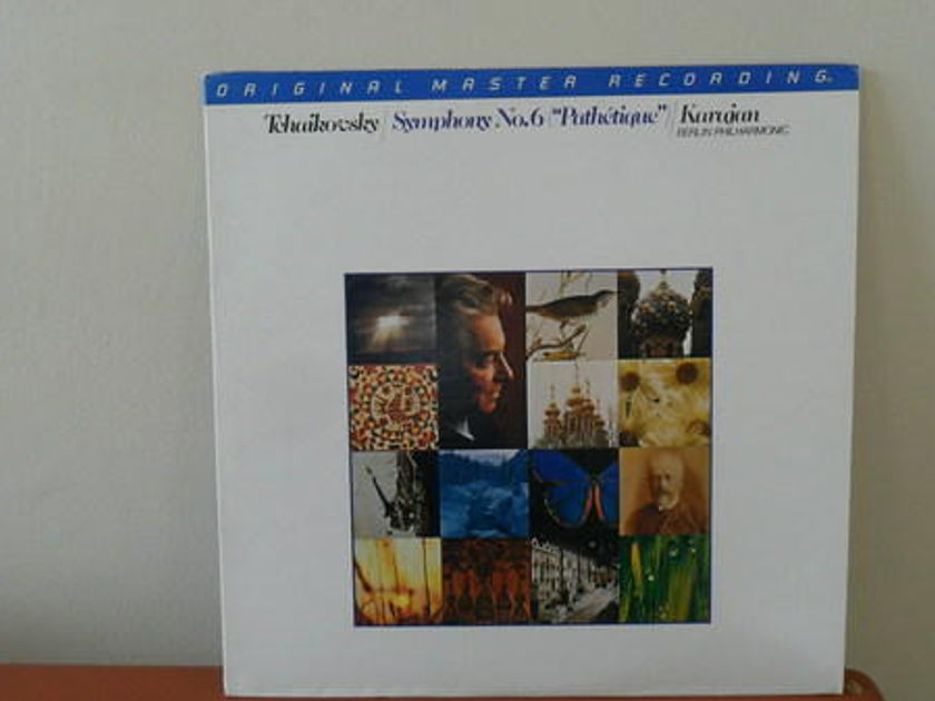Mobile Fidelity 1/2 - SPEEd: tchaikovsky symph.  6 karajan berlin po m-