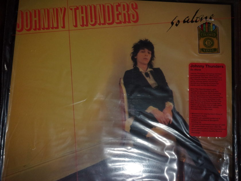 Johnny Thunders - So Alone Limited Edition Numbered