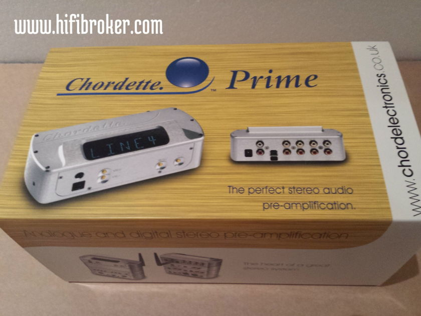 Chord Electronics Ltd. Chrodette Prime