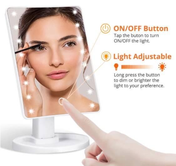 Vanity mirror, vanity mirror with lights, makeup mirror, makeup mirror with lights,